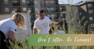 don't litter, no excuses, ecology, Serbia, click for Serbia