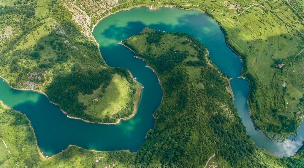 Zavoj Lake, Serbia, serbien