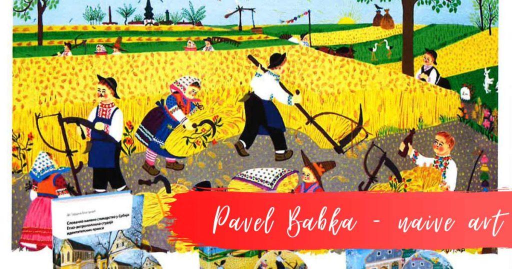 Pavel Babka, naive, painting