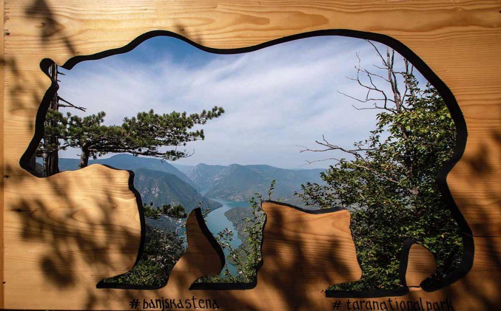 banjska rock viewpoint, Serbia, Tara