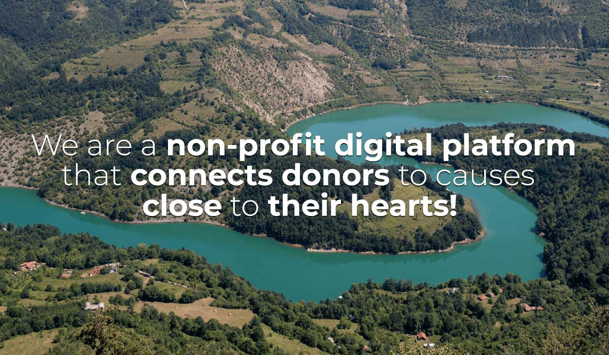 Non-profit digital platform, click for Serbia