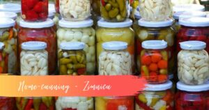 Winter home-canning, Zimnica, Serbian culture, Serbian food, Serbian tradition, click for Serbia