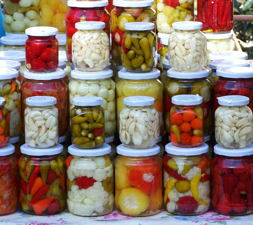 home-canning, zimnica, Serbian food