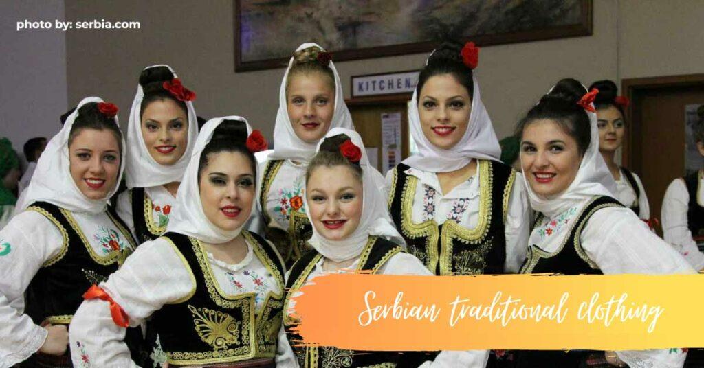 Serbian folklore costume