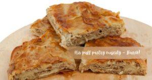 Burek traditional food
