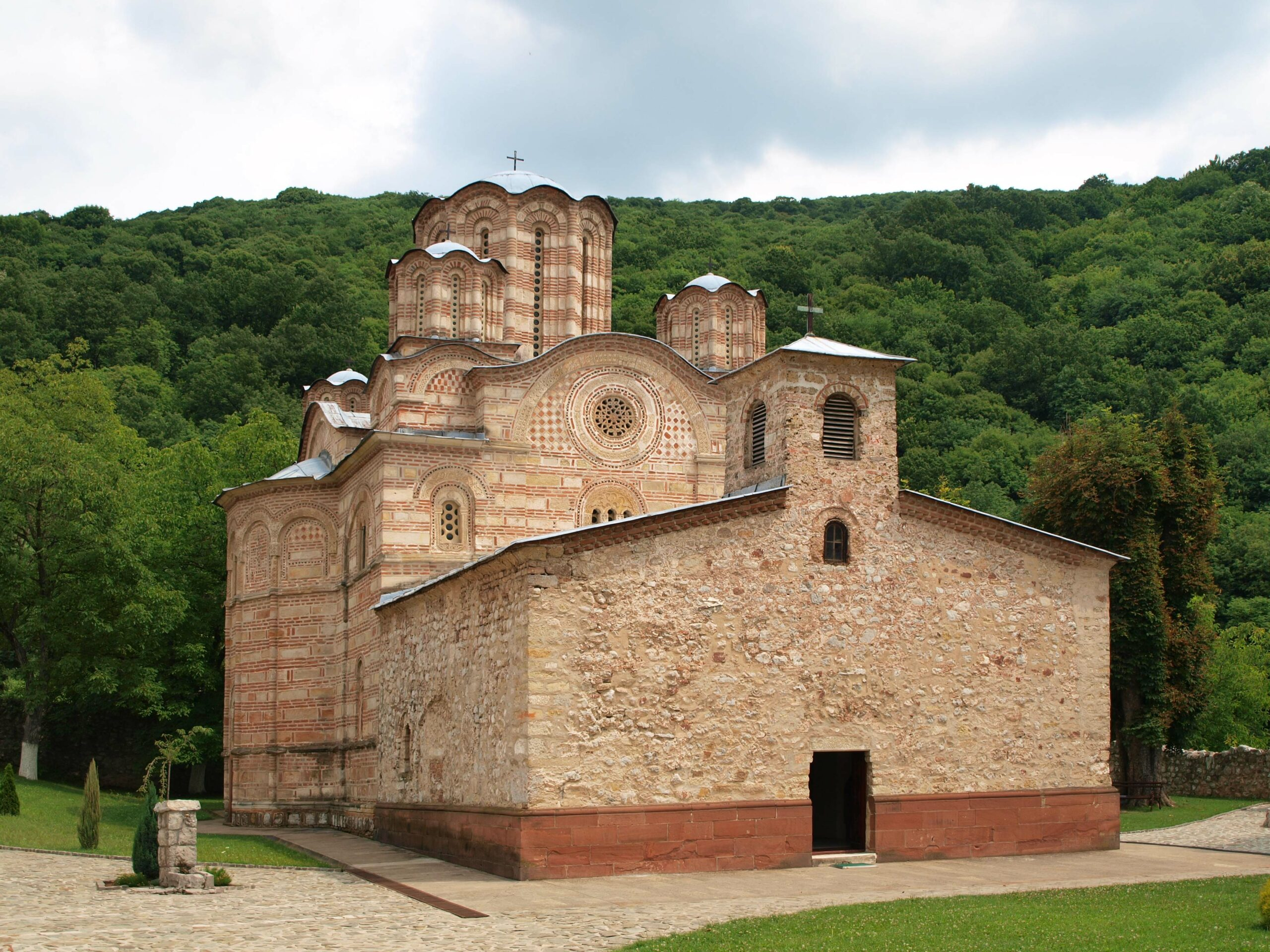Serbian architecture - Ravanica Monastery